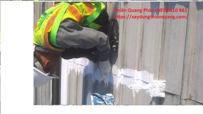 Sửa chống dột mái tôn tại quận 1