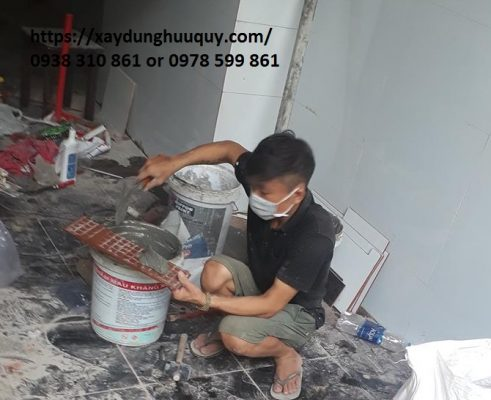 Thợ sơn sửa chữa nhà tại dĩ an bình dương