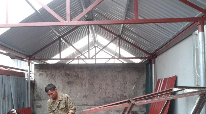 Sửa chữa chống dột mái tôn tại quận 3