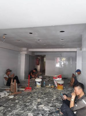 Dịch vụ sơn nhà giá rẻ tại quận 5
