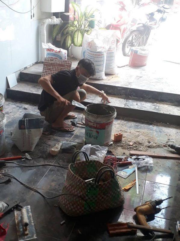 Thợ sửa chữa nhà tại quận 8