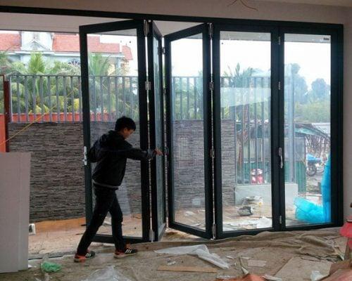 Thợ làm cửa nhôm kính tại quận 9