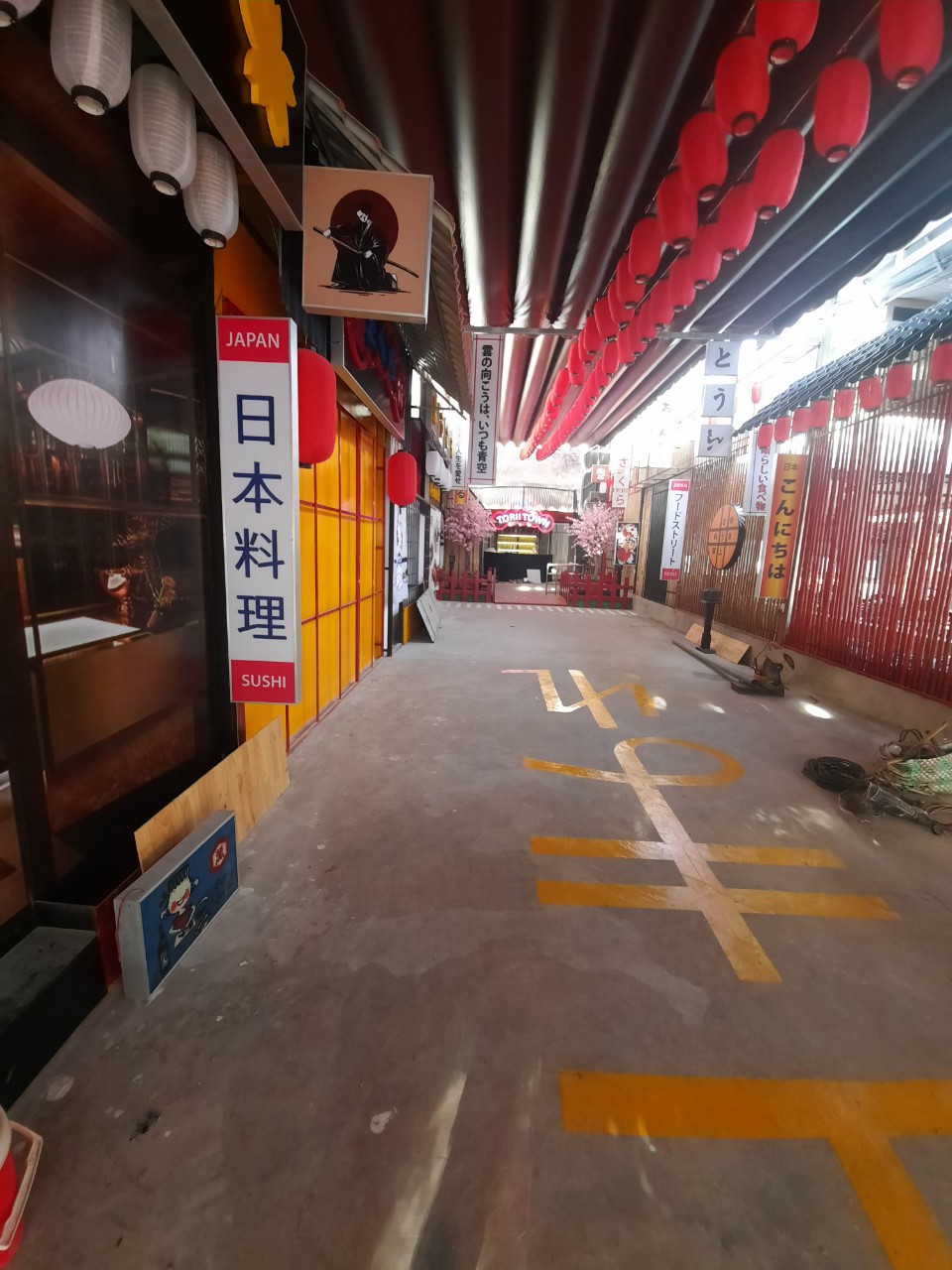 Thi công làm nhà hàng Nhật tại Vũng Tàu