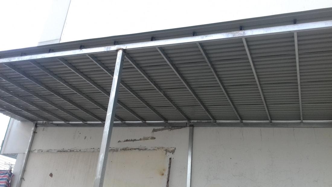 Thi công lợp mái tôn tại quận 1