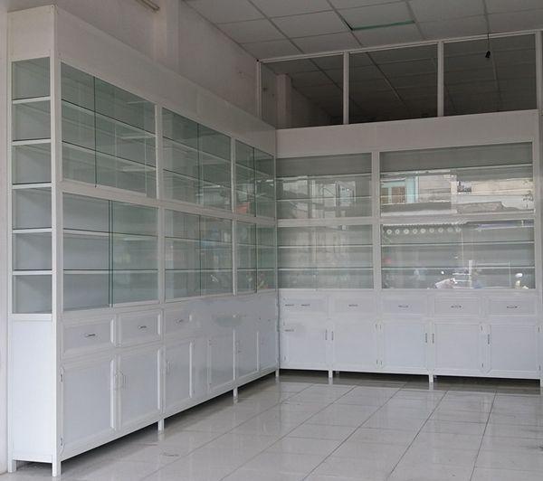 Làm tủ nhôm kính, tủ bếp nhôm kính tại TPHCM
