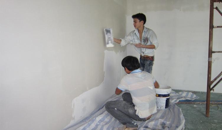 Thi công sửa nhà trọn gói tại Bình Dương