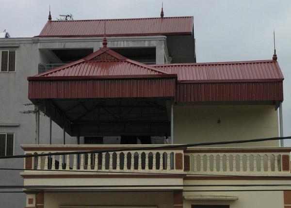 Thi công lợp mái tôn tại Tân Phong Biên Hòa