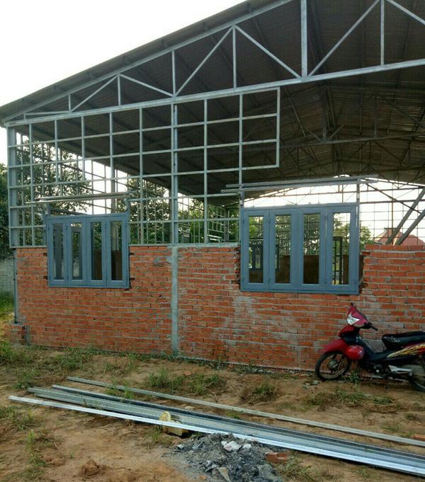 Thi công lợp mái tôn tại quận Bình Thạnh